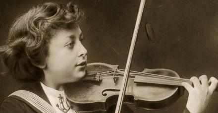 Jascha Heifetz enfant