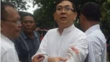 Le prêtre attaqué à Medan en Indonésie.
