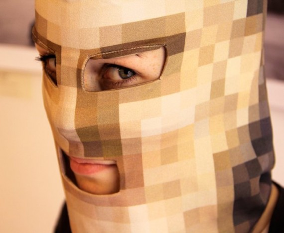 identification visage caché