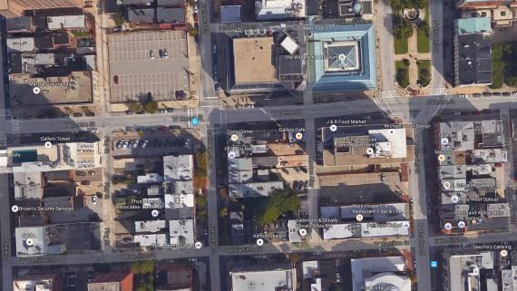 ville Baltimore surveillance aérienne