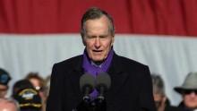 Bush senior votera Clinton plutôt que Trump: l'avortement en arrière-plan