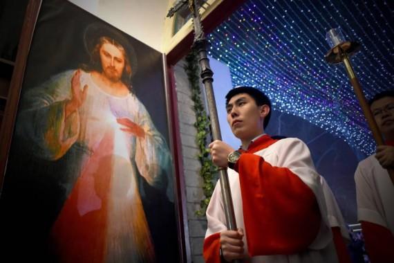 Chine communiste harcèle chrétiens