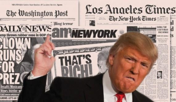 Trump médias confiance Etats Unis opinion