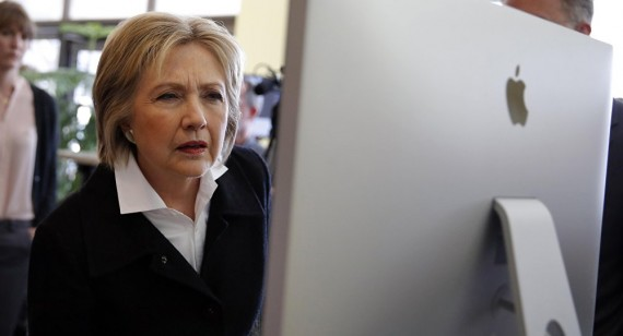 recherches Google favorables Hillary Clinton