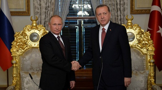 Accord Poutine Erdogan Gazoduc Nucléaire Entente Asiatique Russie Turquie