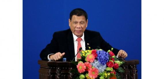 Chine Rodrigo Duterte annonce séparation Etats Unis