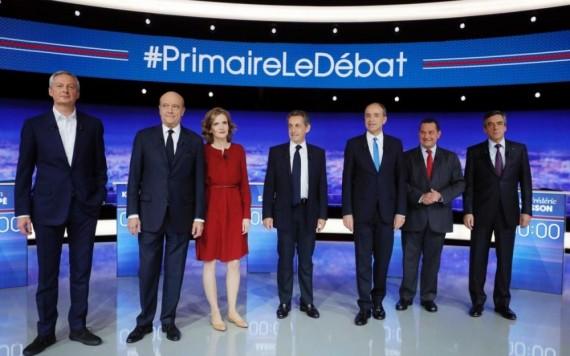 Débat Candidats Primaire Droite Frontières
