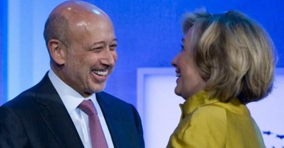 Hillary Clinton Partenaire Officiel Goldman Sachs Gouvernement US