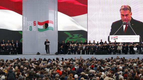 Hongrie Viktor Orban soulèvement anti communiste totalitarisme européen