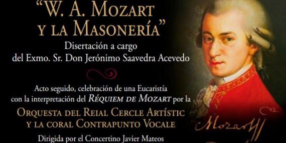 Mozart franc maçonnerie conférence Montserrat Catalogne