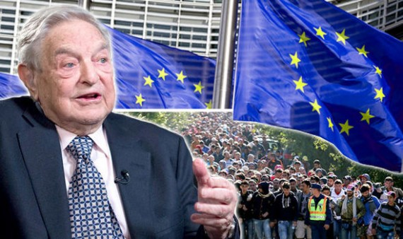 Soros Immigration Europe Emprunt Milliards financer masse Ponzi