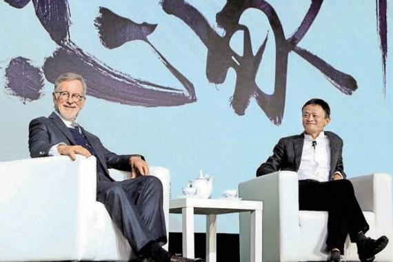 Steven Spielberg ouvre société production cinématographique groupe chinois Alibaba