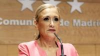 Cristina Cifuentes, présidente du gouvernement de la Communauté de Madrid