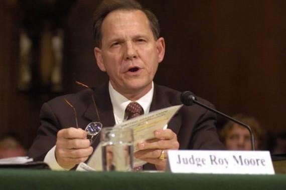 président Cour suprême Alabama juge Roy Moore suspendu défense mariage