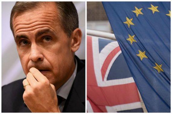 BrexitCarney patron Bank England reculer échéance