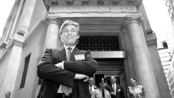 Effet Trump nouveau record Dow Jones Nasdaq forte hausse
