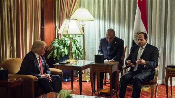 Egypte maréchal Al Sissi salue victoire Trump