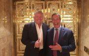 Farage, premier Britannique chez Trump: May dos au mur après avoir dénigré le candidat républicain