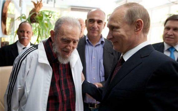 Fidel Castro tyran communiste presse russe