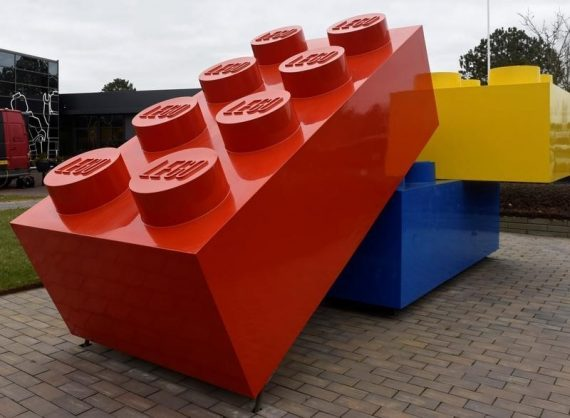 Lego publicités Daily Mail