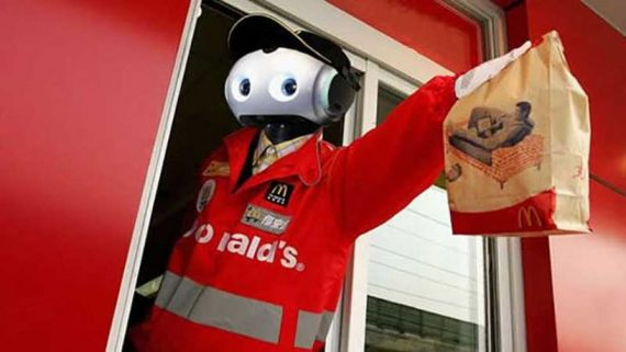McDonalds salaire minimum augmenter automatisation