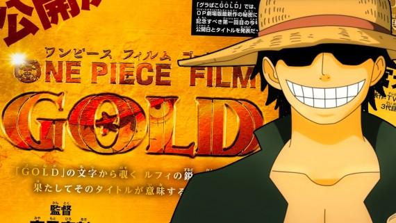 One Piece Gold comédie fantastique manga animé