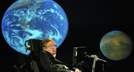 Stephen Hawking Chine construire collisionneur hadrons