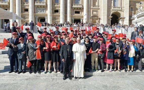accord Pékin Rome catholiques chinois