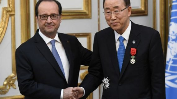 accord climat irréversible Trump Hollande Ban Ki moon mondialistes