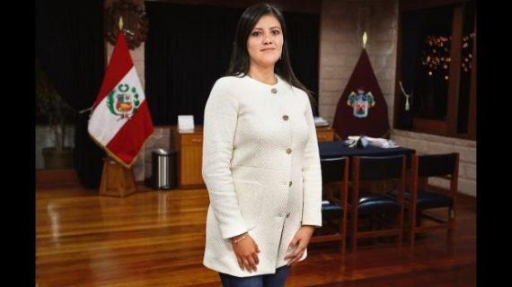 gouverneure Arequipa Pérou consécration Sacré Coeur