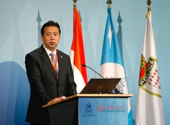 président Interpol Meng Hungwei ministre Sécurité intérieure Chine