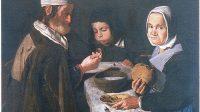 (Anonyme, Repas frugal,  XVIIe siècle)