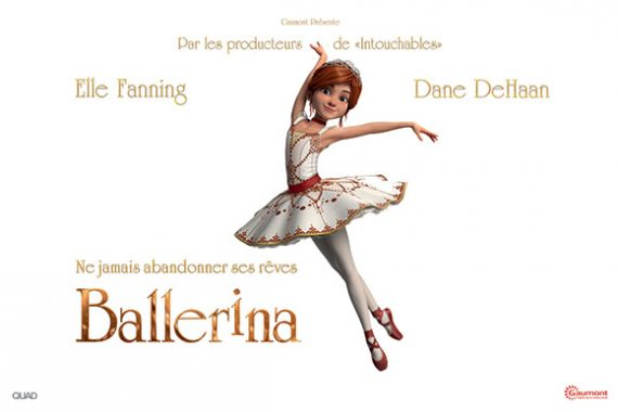 Ballerina conte enfants film animation