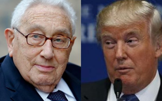 Donald Trump rencontre Henry Kissinger inquiétude anti mondialisme