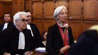 Comparution de Christine Lagarde à Paris, le 12 décembre