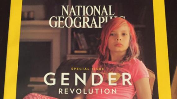 National Geographic numéro janvier Une garçon habillé fille idéologie genre