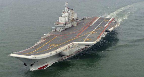 Porte avions Chinois USA Taïwan Japon pacifique