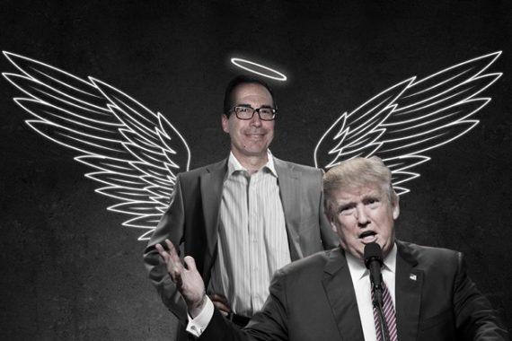 Steven Mnuchin ancien Goldman Sachs secrétaire Trésor Donald Trump