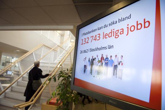 Suède diminution population active immigrés