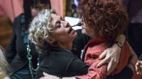 Valeria Fedeli (à droite) et Monica Cirinnà (autre figure de proue en Italie de l'union entre personnes homosexuelles)