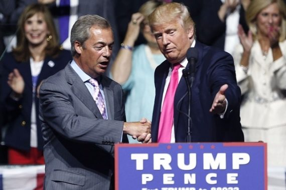 propagande populiste Farage Trump comparable celle Etat islamique