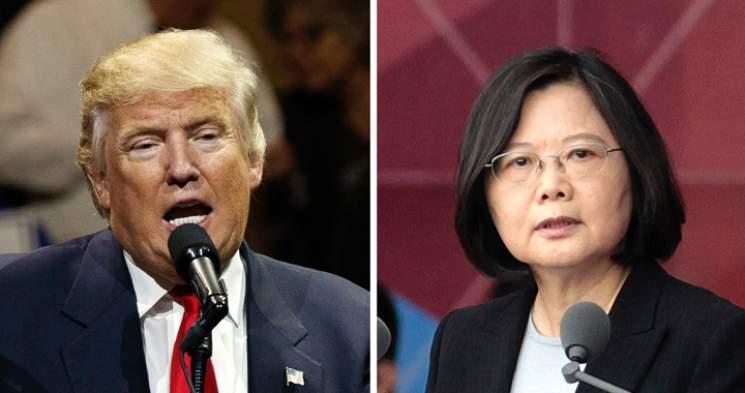 téléphone Donald Trump présidente Taiwan colère Chine communiste
