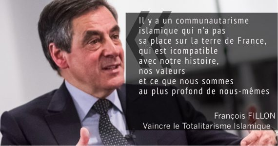 vidéo François Fillon communautarisme islamique BFM TV