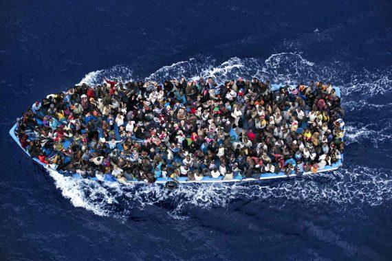 20 pourcent valeur augmentation nombre migrants arrivés bateau Italie 2016