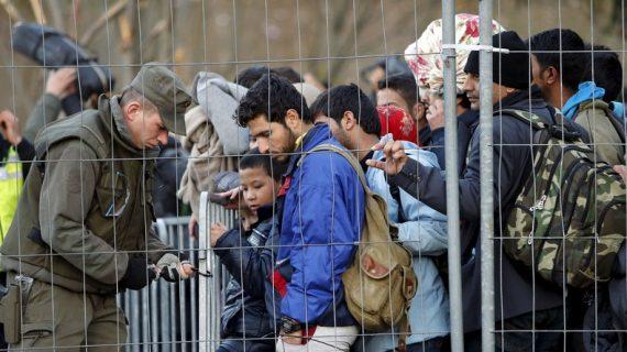 Autriche plan européen maîtrise immigration zones protection