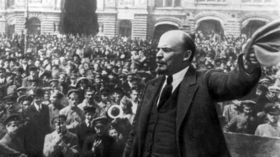 Centenaire révolution bolchevique 1917 presse russe Lénine salue
