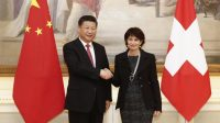 Xi Jinping et Doris Leuthard