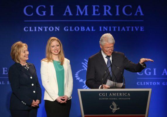 Clinton Global Initiative fermer dons