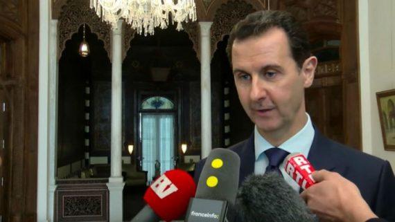 Interview Bachar Assad Médias Français Guerre Syrie