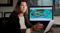 Judith Curry, professeur à l'Ecole des sciences de la terre et de l'atmosphère au Georgia Tech d'Atlanta.